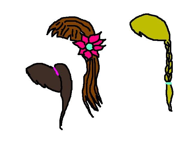 hairstyles cartoon