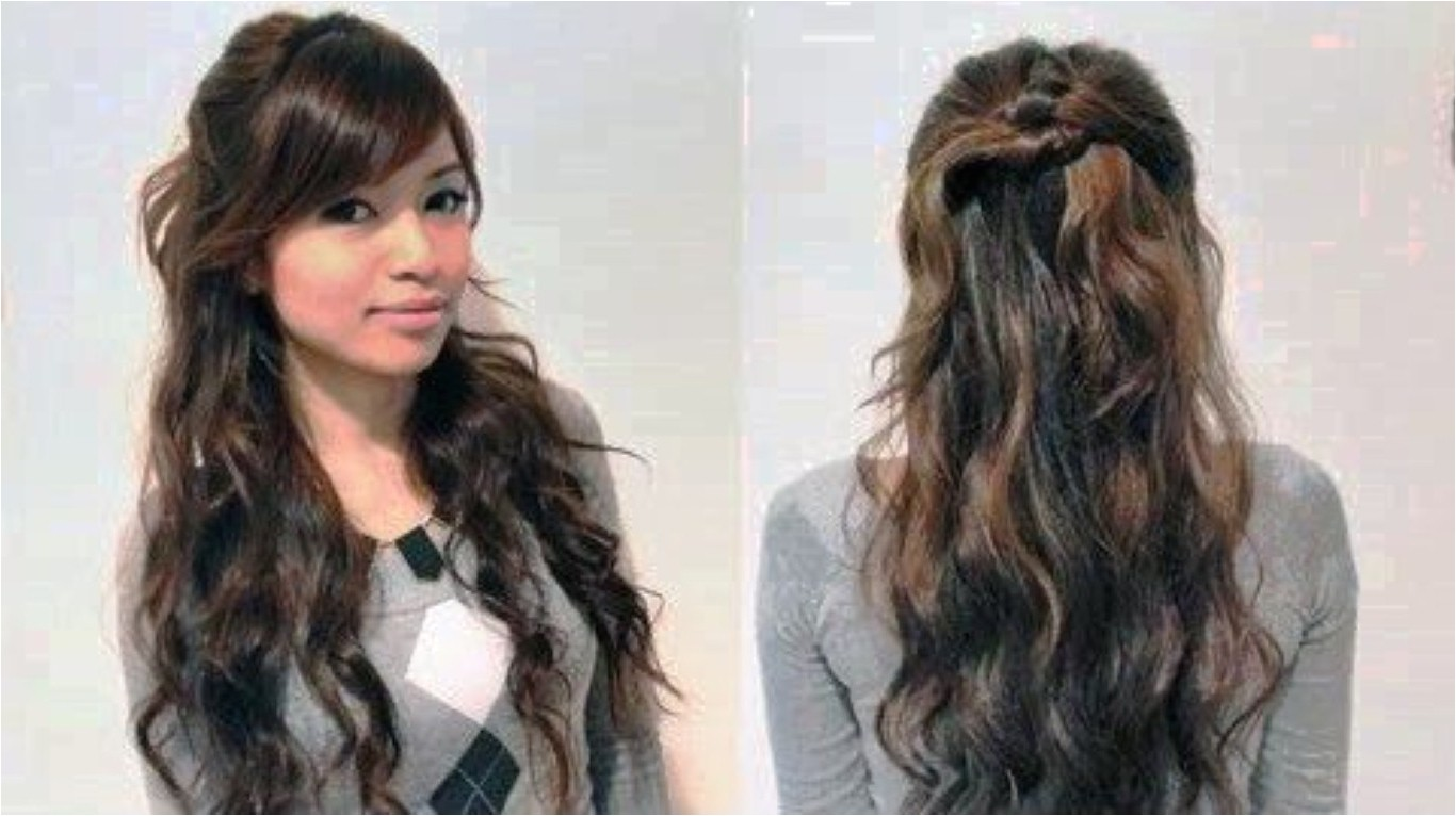 cute casual hairstyles for long curly hair