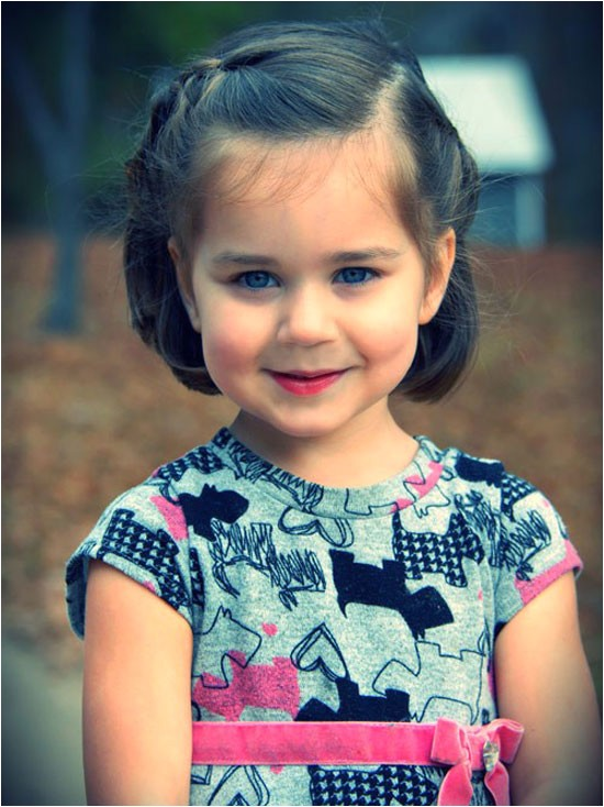 best cute simple unique little girls kids hairstyles haircuts