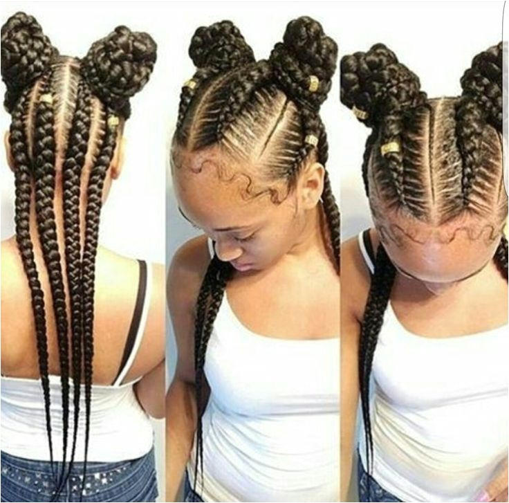 cute cornrow braids