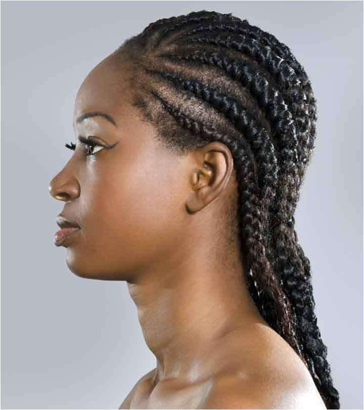 cornrow braid hairstyles to the side