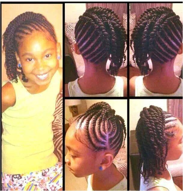 3 layer cornrow hairstyles