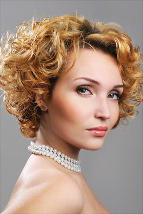 Cute Curled Hairstyles for Short Hair 30 Best Short Curly Hair