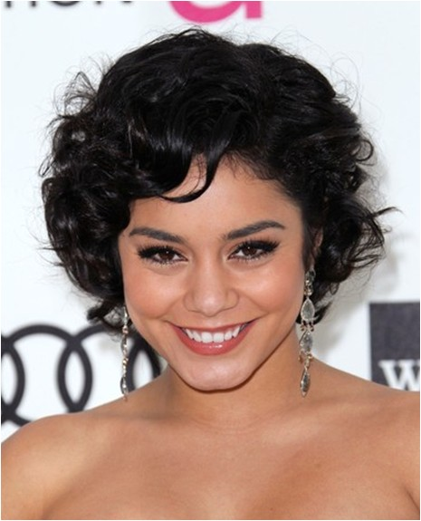 cute short curly hairstyles 2