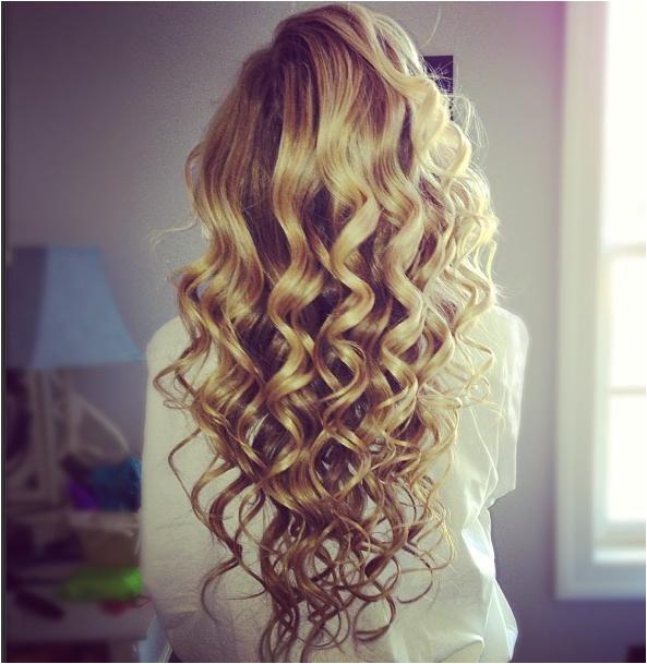 home ing blonde curls