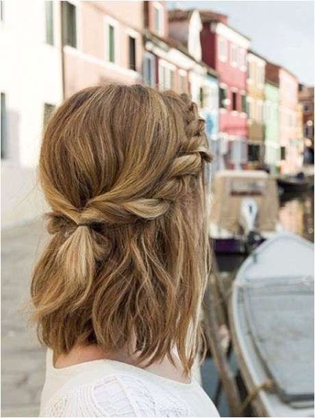 cute down hairstyles for medium length hair