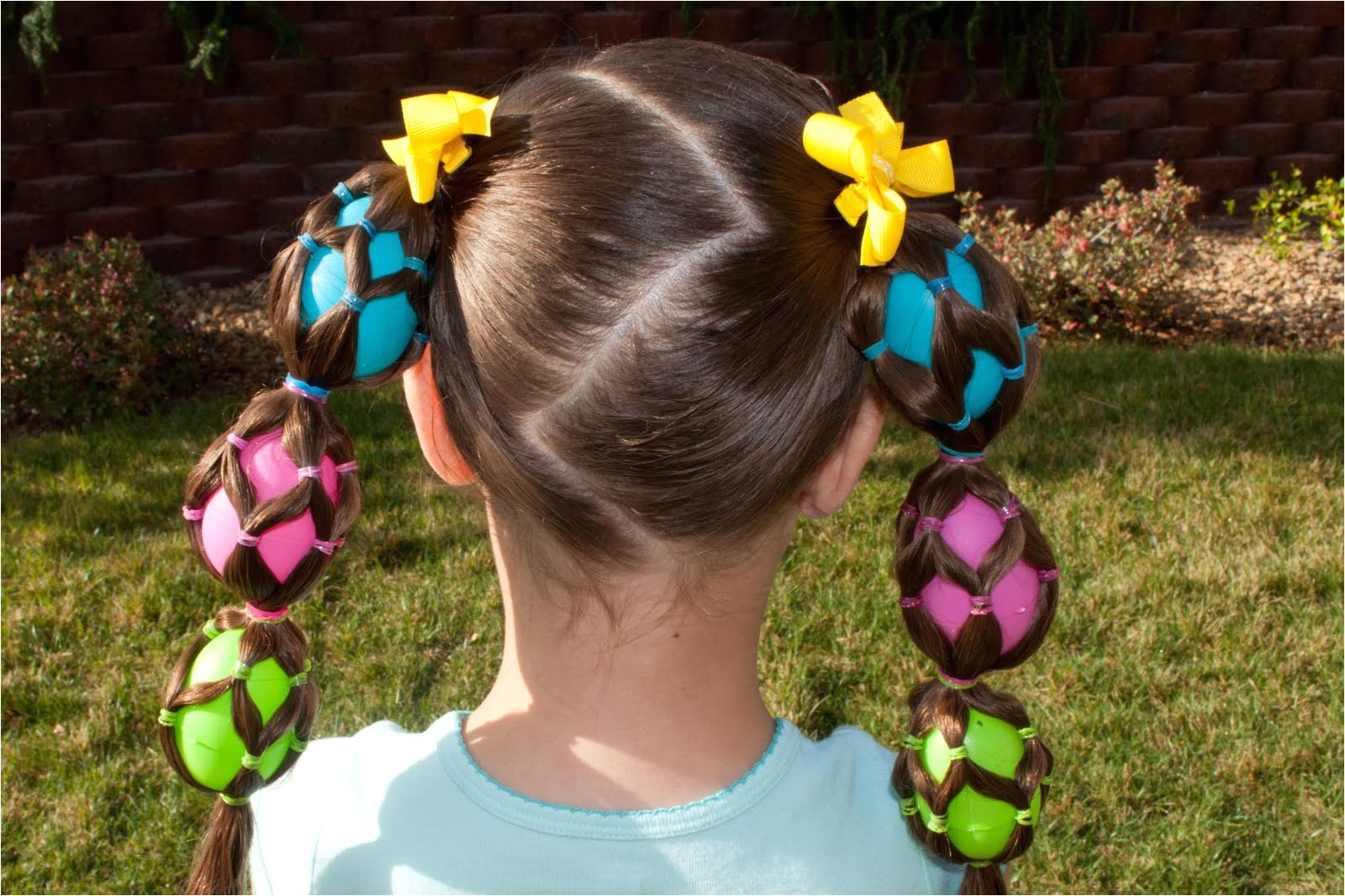 trendy easter party hairstyles for girls 2015