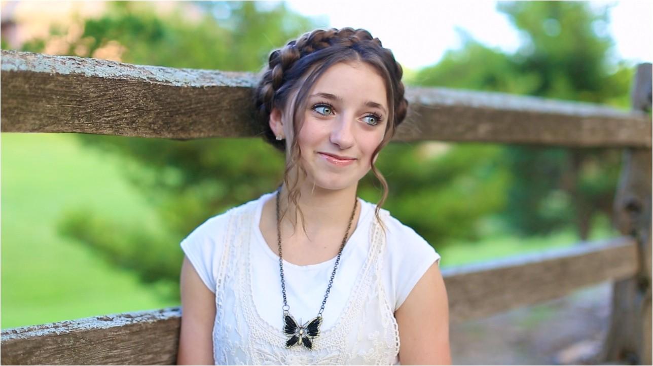 milkmaid braid cute summer hairstyles