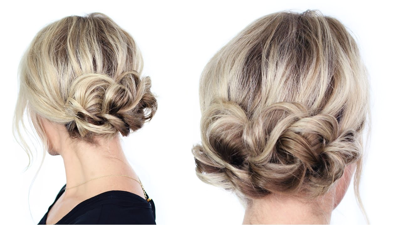 easy hairstyle updos