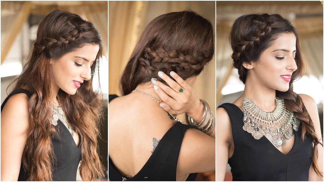 cute hairstyles for parties