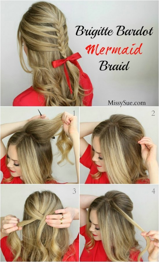 Cute Easy Hairstyles for Christmas 12 Super Cute Diy Christmas Hairstyles for All Lengths