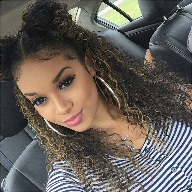 Cute Easy Hairstyles for Mixed Hair Best 25 Cute Curly Hairstyles Ideas On Pinterest