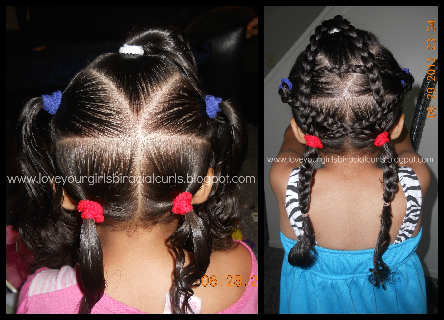Cute Easy Hairstyles for Mixed Hair Mixed Girl Hairstyles
