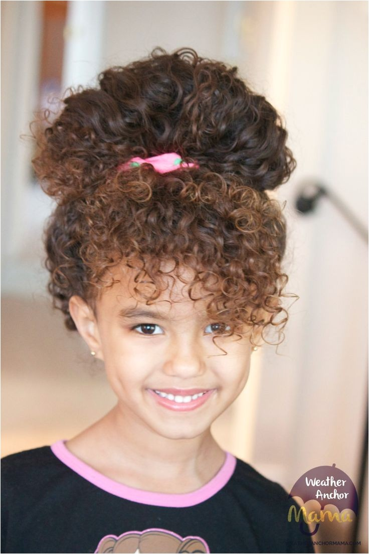 Cute Easy Hairstyles for Mixed Hair toddler Girl Curly Hairstyles