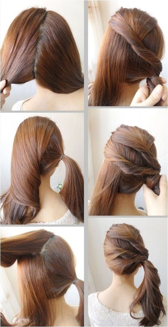 22 quick and easy back to school hairstyle tutorials