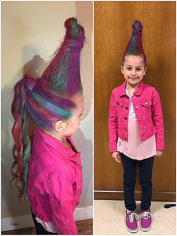 cute hairstyles for crazy hair day at school