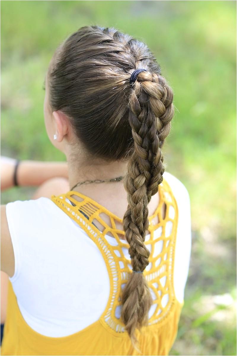 Cute Easy Hairstyles for Sports the Run Braid Bo Hairstyles for Sports