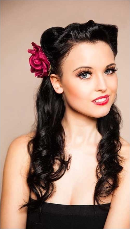 25 pin up hairstyles for long hair