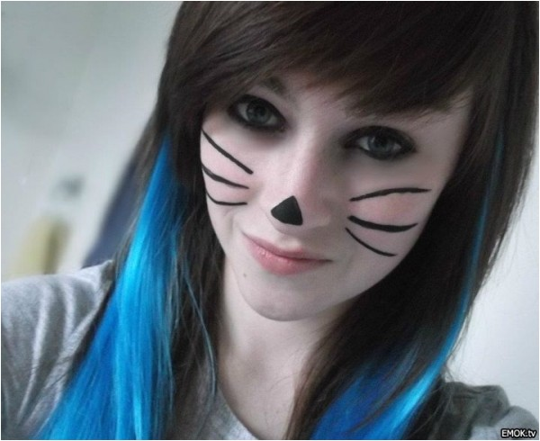 cute emo hairstyles for long hair 5