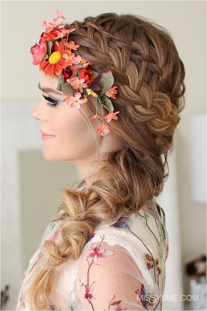Cute Fairy Hairstyles Fairy Halloween Hairstyle