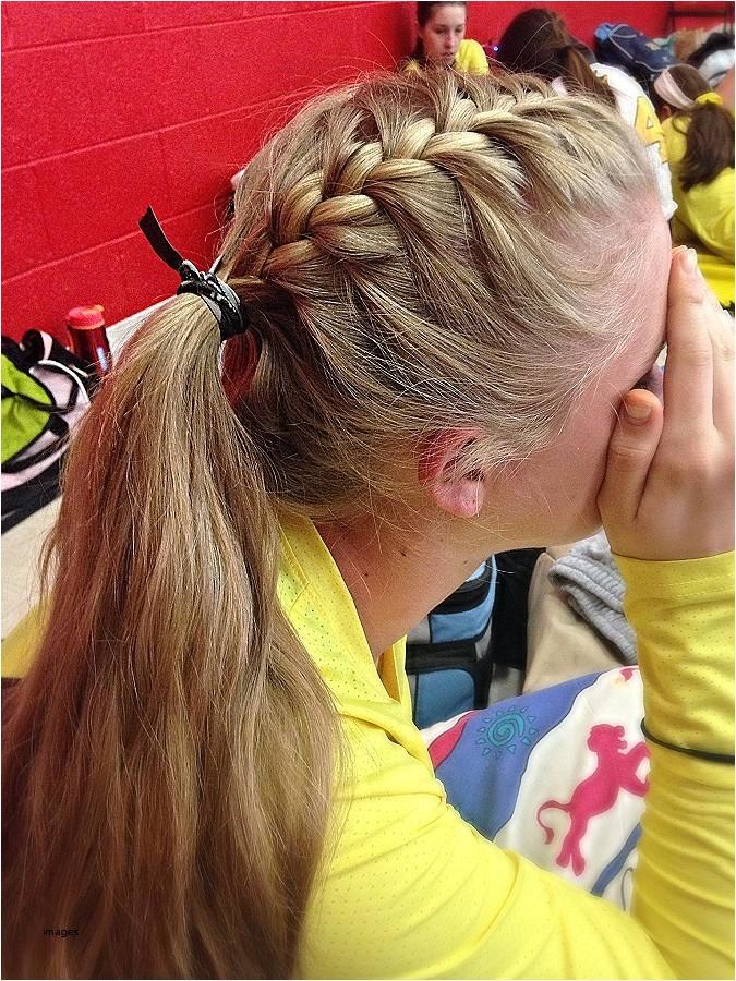 cute football game hairstyles