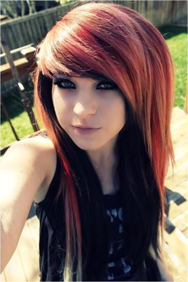 cute emo hairstyles for teens