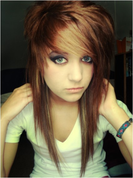 Cute Girl Emo Hairstyles Emo Hairstyles for Girls Latest Popular Emo Girls