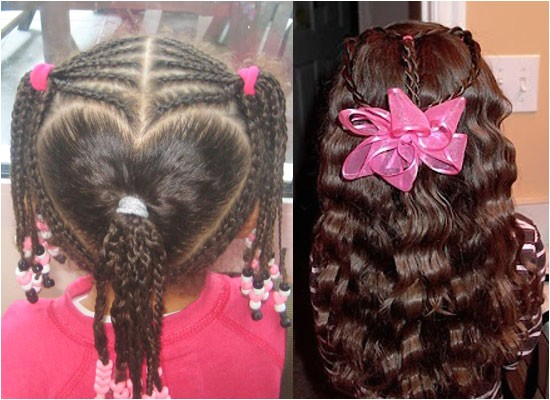 cute yet amazing valentines day hairstyles ideas for girls kids 2013