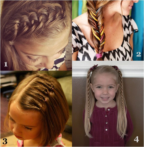 Cute Girl Hairstyles for Picture Day Girls Hairstyles for Back to School