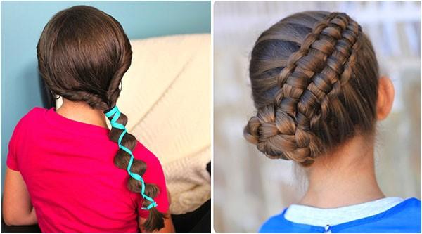 top 10 cute girl hairstyles school