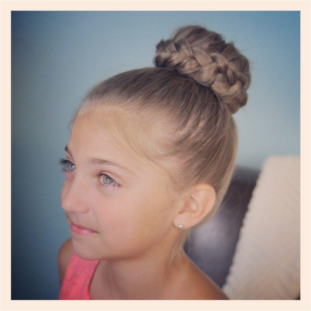 Cute Girls Hairstyles Braided Bun Lace Braided Bun Cute Updo Hairstyles Cute Girls Hairstyles