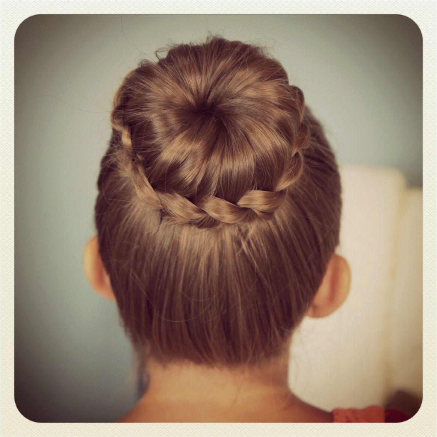 Hairstyle Cute Girl Best Cute Back to School Hair Cuts Lace Braided Bun Cute Updo