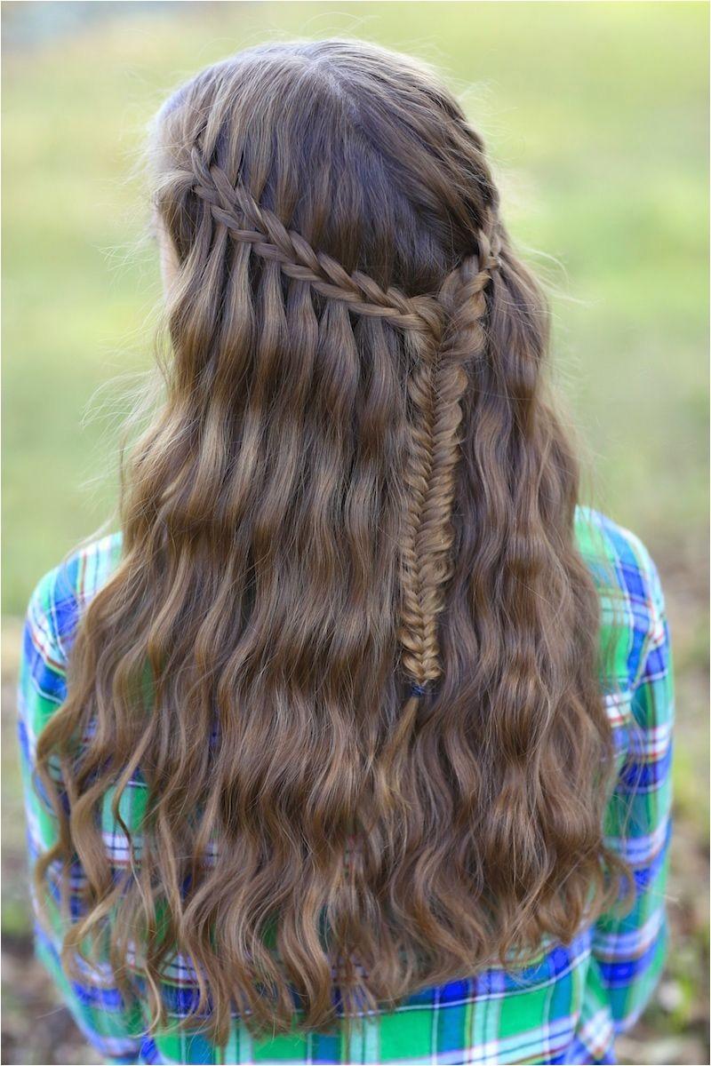 Scissor Waterfall Braid bo and more Hairstyles from CuteGirlsHairstyles