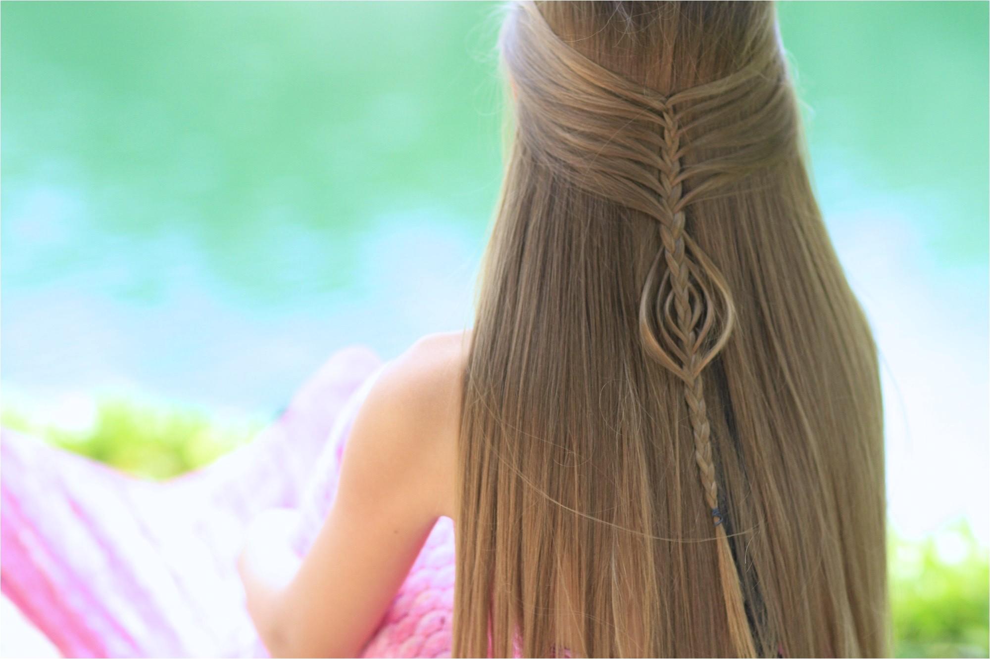 mermaid braid bo