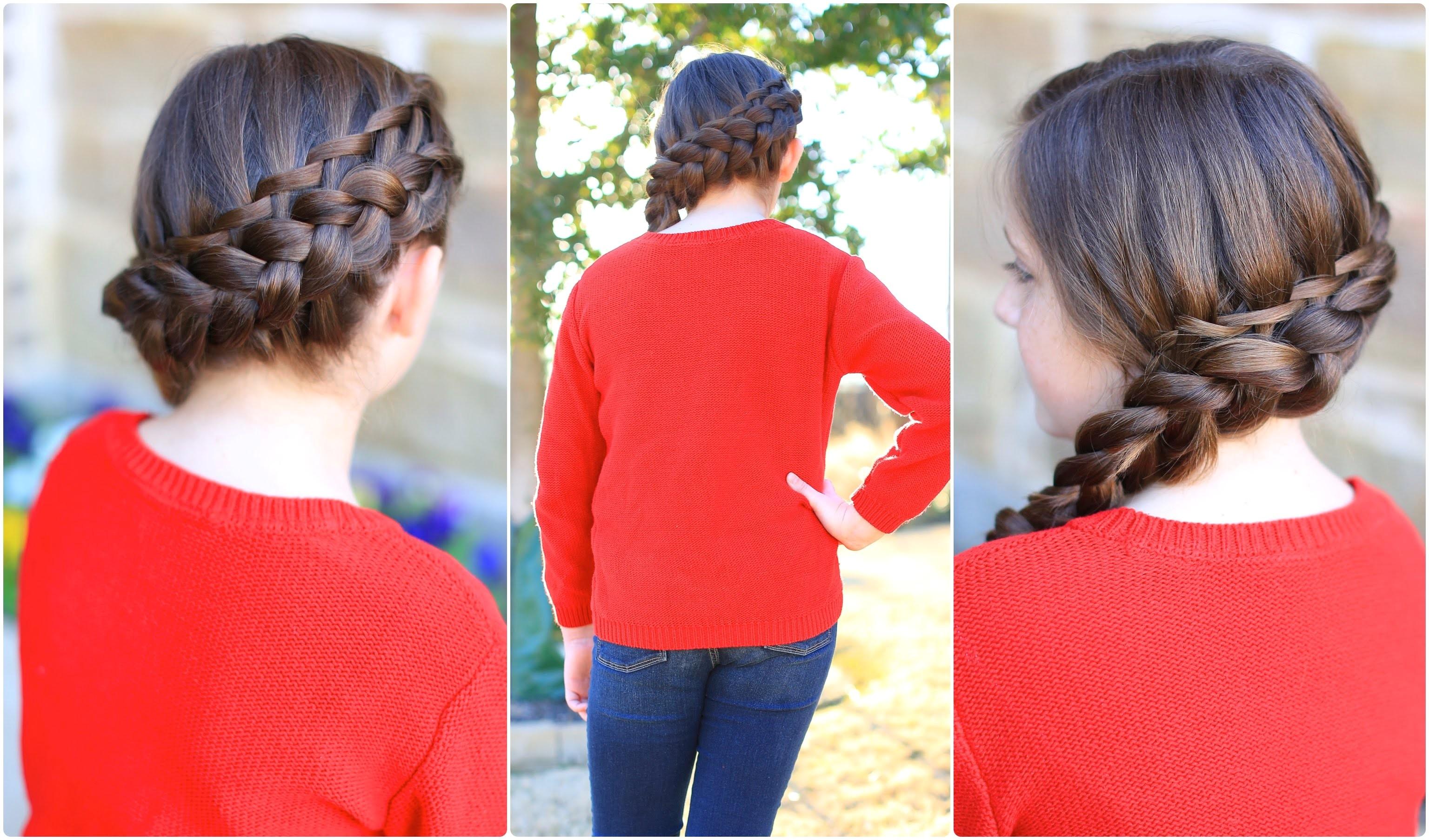 waterfall twist bo cute girls hairstyles