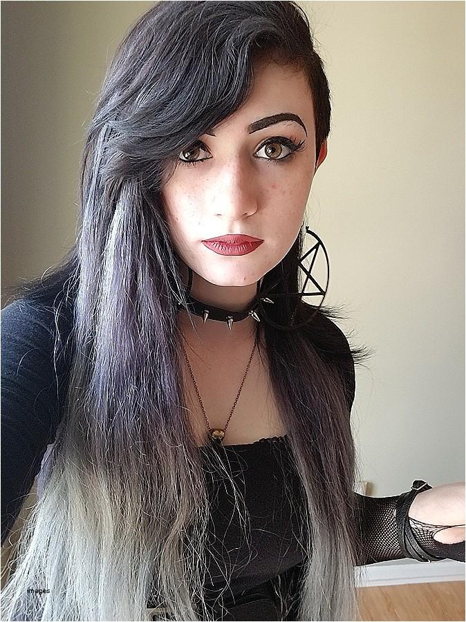 cute goth hairstyles