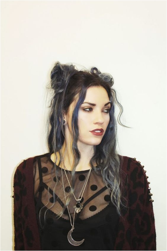 Cute Grunge Hairstyles Hipster Goth Girl
