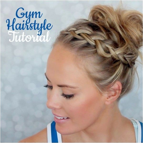 cute gym hairstyles