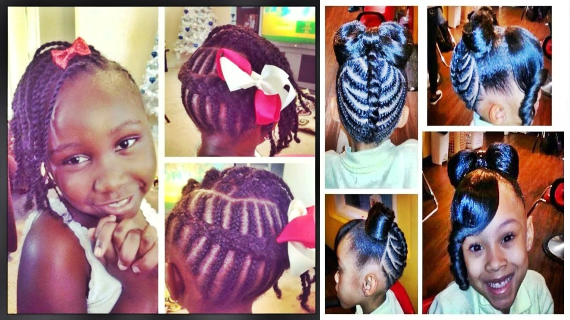 Cute Hairstyles for Black 8 Year Olds