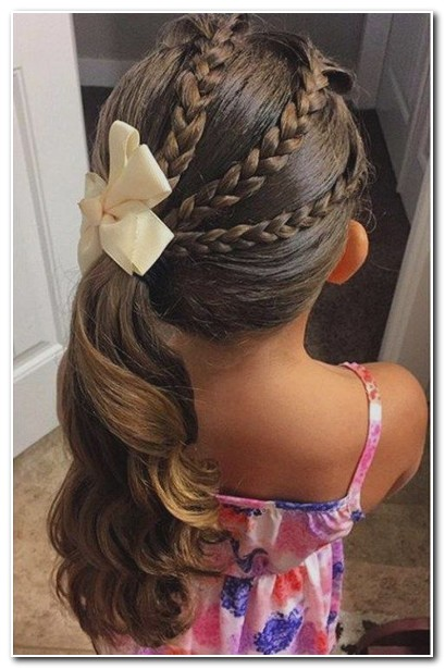 easy hair styles for 9 year olds