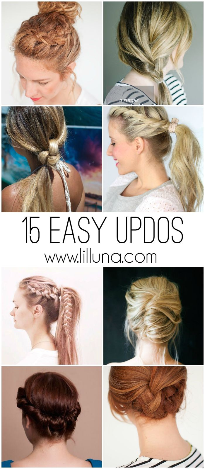 lazy day hairstyles for long hair