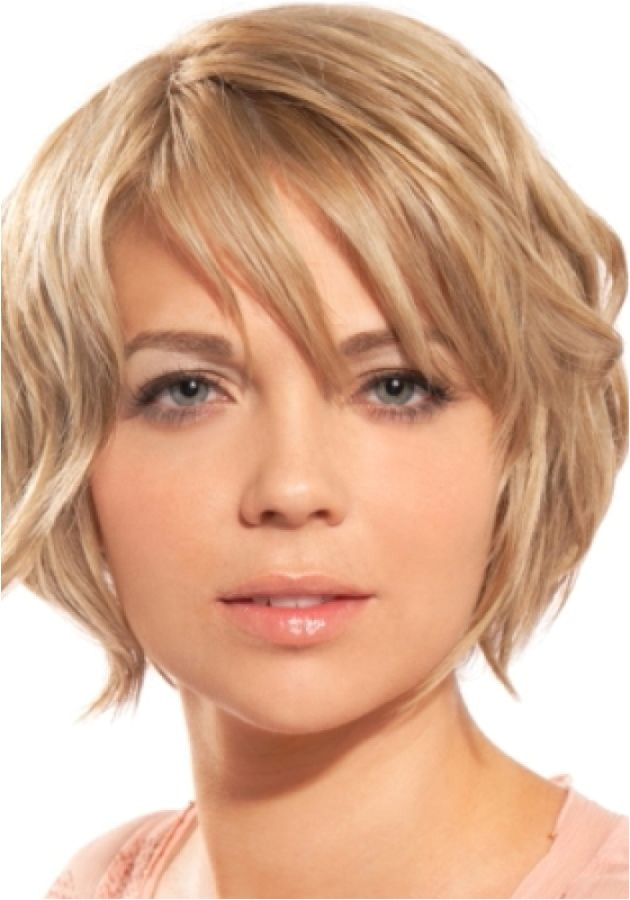 easy hairstyle for round face ideas