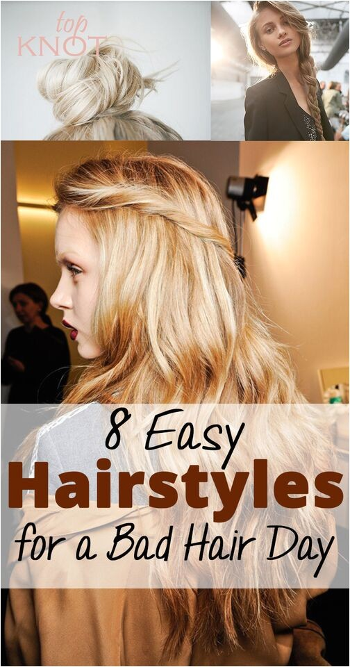 5 easy hairstyles for a bad hair day