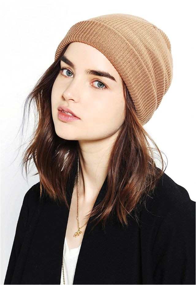Cute Hairstyles for Beanies 7 Hairstyles that Look Great with Beanies