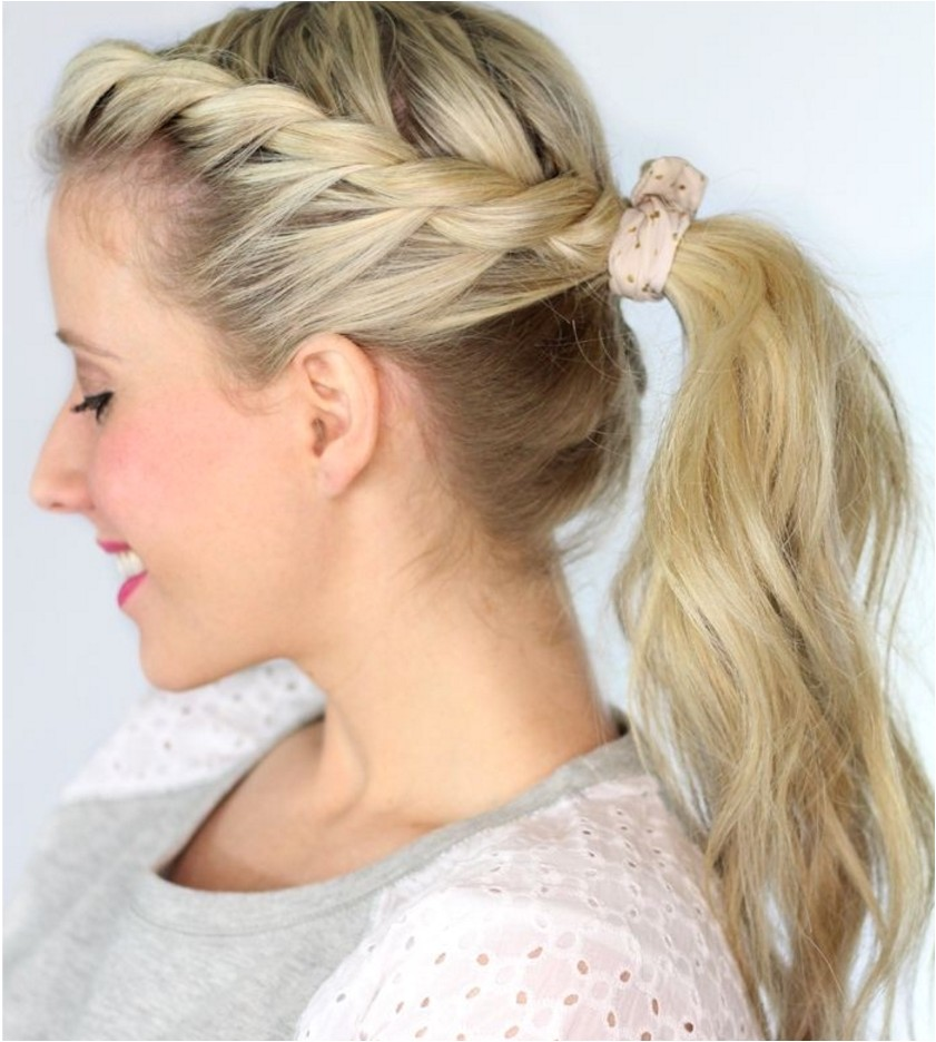 6 creative cheerleading hairstyles