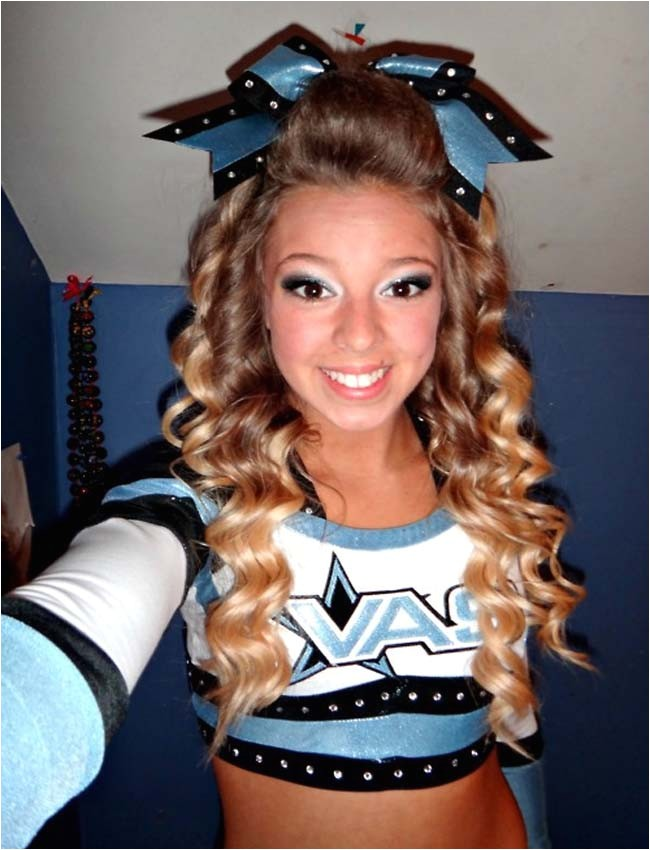 Cute Hairstyles for Cheer Cute Cheerleading Hairstyles for Long Hair Best Hair Style