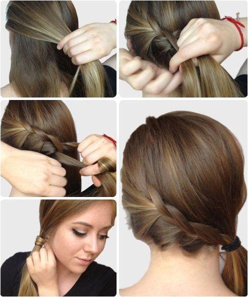 peinados faciles y lindos para ir a clases