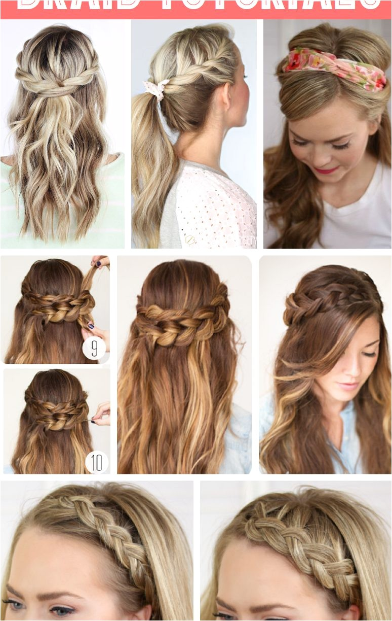 easy hairstyle for school