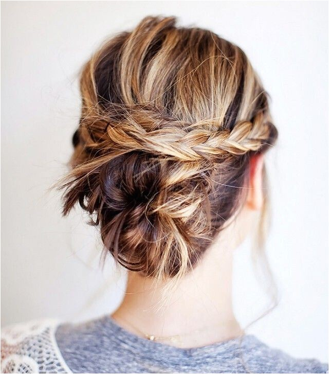 easy hairstyles for a dance