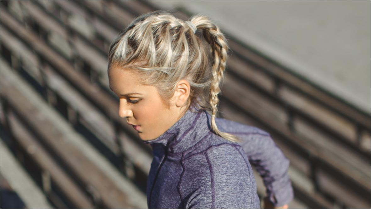 easy workout hairstyles